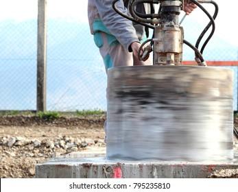 Drilling big hole