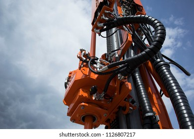 drilling equipment, close-up