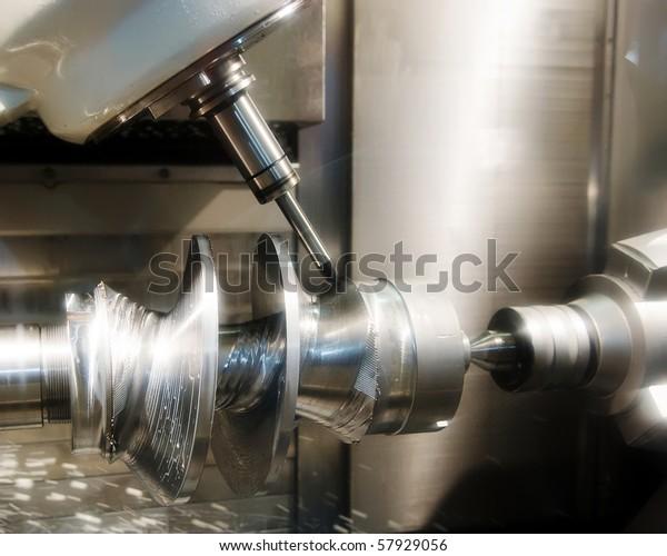 Drilling machine workpiece