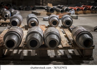 Drilling of oil and gas wells. Drill pipe inspection.