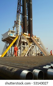 Drilling rig in china