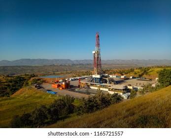 Drilling rig in Kurdistan, Iraq