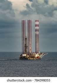 Drilling rig towing