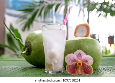 Drink coconut water naturally cool