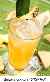 Drink with pineapple