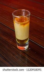 Drink shots cocktails