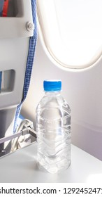 Drink water on the aircraft