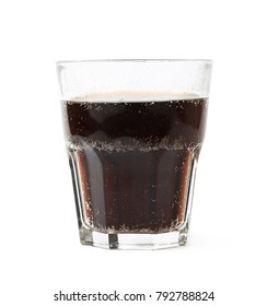 Drinking glass isolated over the white background