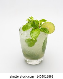 Drinking lemon juice, soda, mint helps quench thirst. And refreshing