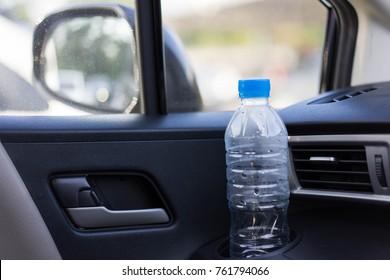 Drinking Water Bottle In Car