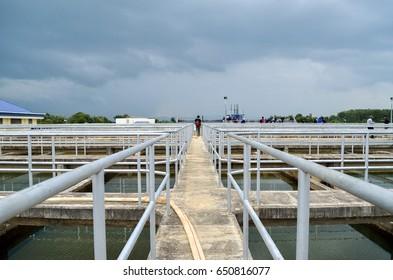 Drinking water treatment plant : Sedimentation Tank
