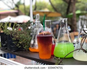Drinks science lab model