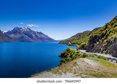 Drive along scenic New Zealand Coast