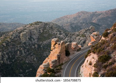 Drive up Catalina Highway on Mount Lemmon into the Coronado National Forest and Santa Catalina Mountain Range is scenic with beautiful vistas.