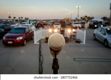 Drive In Comedy Show During Covid Pandemic USA - Shutterstock ID 1807752406
