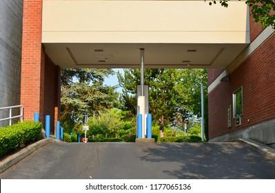 Drive through ATM, WA-USA