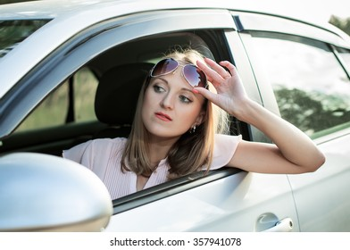 Driver got stuck in traffic