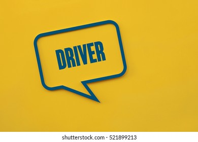 Driver, Technology Concept
