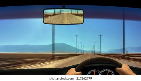 Driver Windscreen Point of View