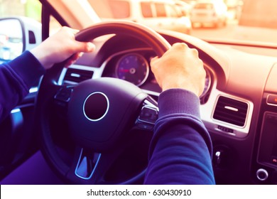 Driving a Car / Steering Wheel