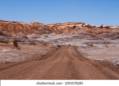 Driving in Moon Valley