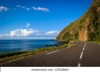 Driving in Hienghène, in the northeast of New Caledonia