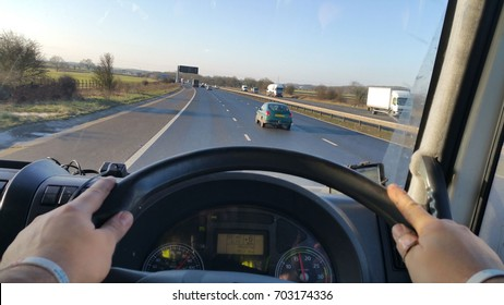 Driving on road