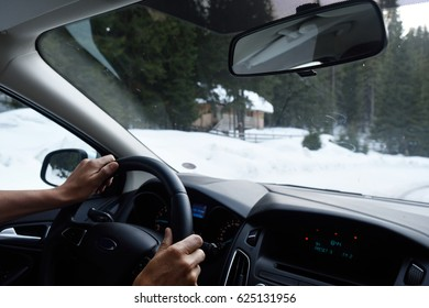 Driving with snow