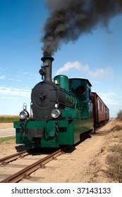 Driving Steam Locomotive