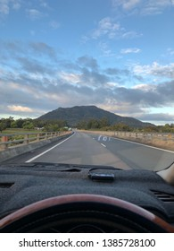 Driving to Sydney through the small town Grafton