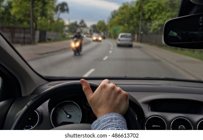 Driving in traffic