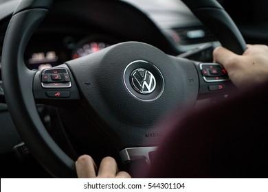 Driving Volkswagen, 16 December 2016, Penang Malaysia