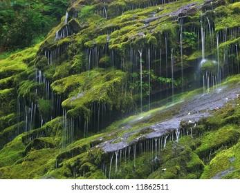 Drizzling Waterfall