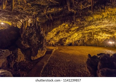 Drogarati Caves in KEfalonia Island Greece exploring