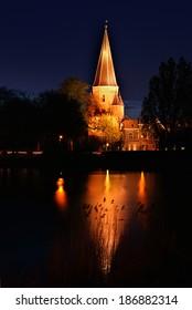 Drogenapstoren by night, in Zutphen Holland.