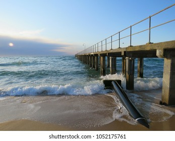 Dromana Pier on the Mornington Peninsula in Victoria, Australia