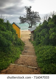 Dromana public beach access stairs