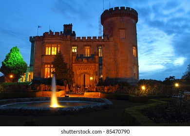 Dromoland Castle Co. Clare Ireland At Night