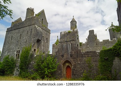 Dromore Castle is a manor house in Templenoe, County Kerry, Ireland, looking out over the Kenmare River.