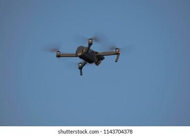 dron in flight