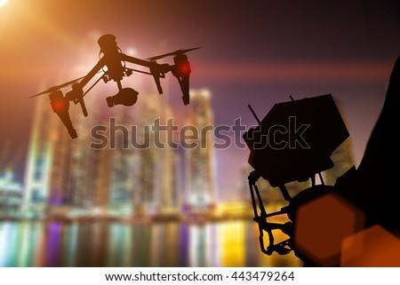 drone parrot jumping race jett