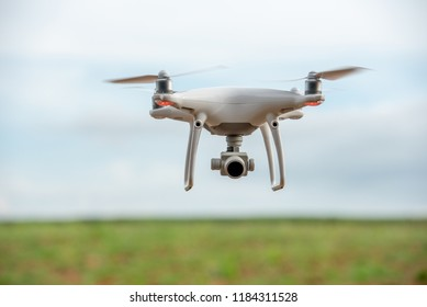 Drone aerial view nature travel background