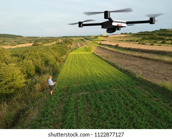 drone agriculture infrared inspection of crops