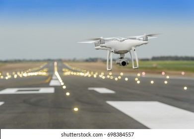 Drone in the airport