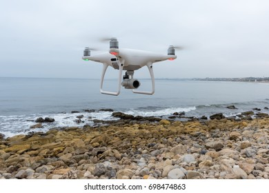 Drone Flying at Beach
