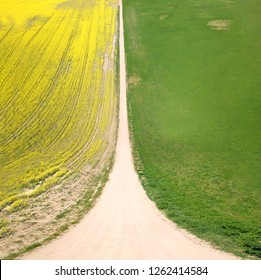 drone inception road land