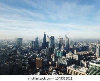 drone london city