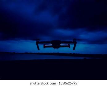 Drone Night flight