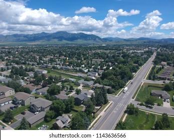 Drone Photograph of Bozeman, Montana