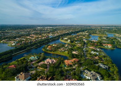 Drone photography aerial weston florida usa